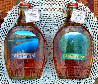 12 oz bottles of maple syrup